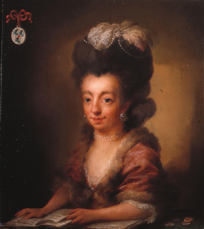 Niels Rode, Portret van Baronesse de Lannoy (1738-1782), 1778. Collectie Het Noordbrabants Museum, 's-Hertogenbosch, in langdurig bruikleen aan Museum de Roos, Geertruidenberg.