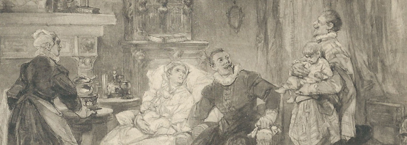 Rochussen, illustratie Jacob van Lennep, De pleegzoon