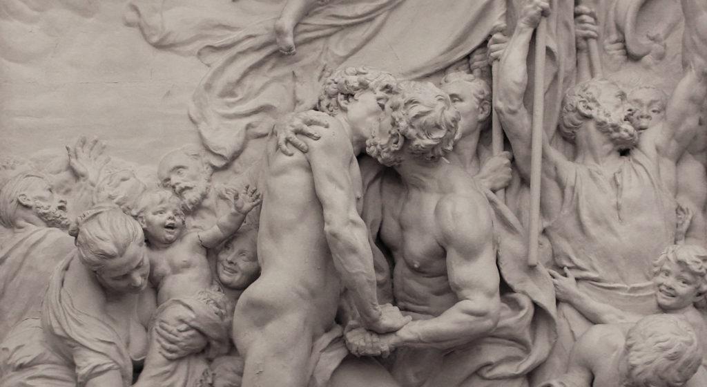 Aimé-Jules Dalou, Brotherhood (La fraternité), 1883, plaster. Paris, city hall of the Xth arrondissement. Credit: Wikimedia Commons / CC BY-SA 3.0 / photo by Coyau.