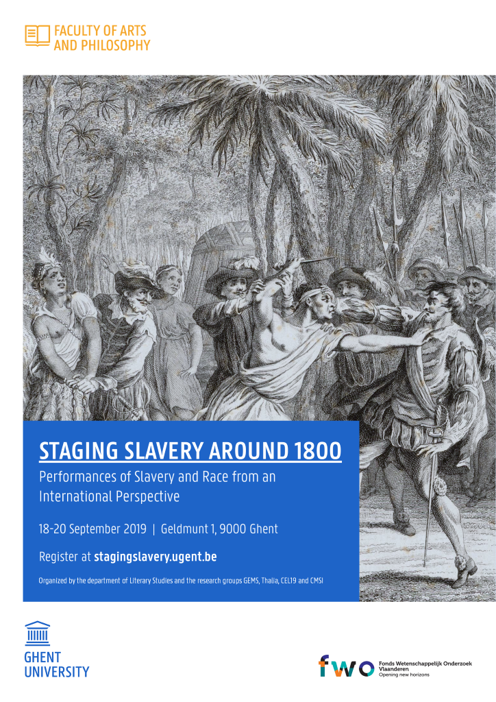 Staging Slavery