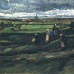 Vincent van Gogh, Nettenboetsters in de duinen, 1882. Privécollectie.