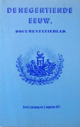 Cover De Negentiende Eeuw 1 (1977) 2